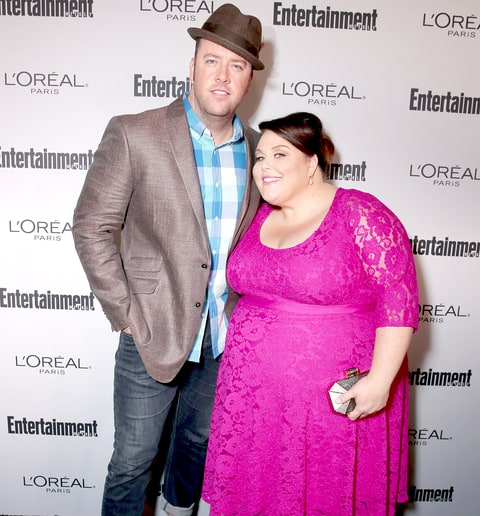 Chris Sullivan and Chrissy Metz attend the 2016 Entertainment Weekly Pre-Emmy party at Nightingale Plaza on September 16, 2016 in Los Angeles, California.