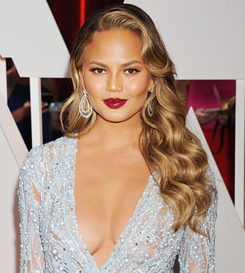 ... Teigen Dyes Her Hair Dark Brown: See the Dramatic Hair Color Makeover
