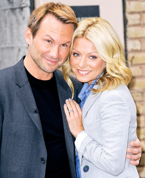 Christian Slater and Kelly Ripa host the