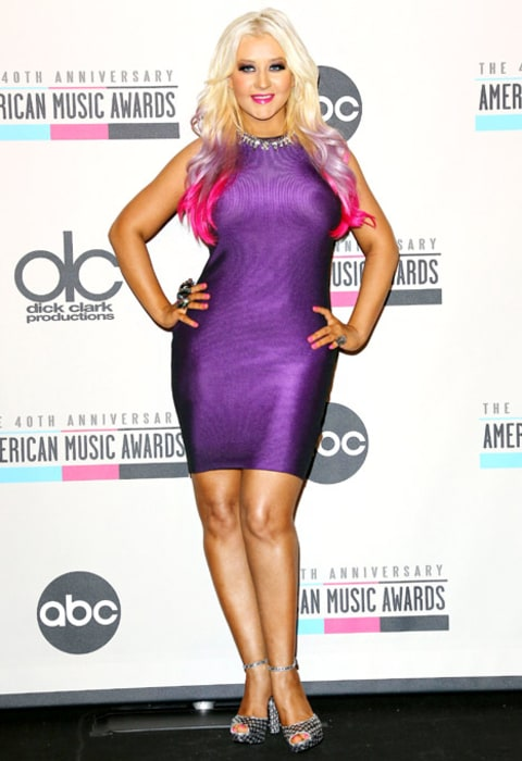 Christina Aguilera Deb... Christina Aguilera Weight