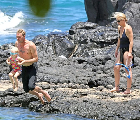 Christina and fam in hawaii