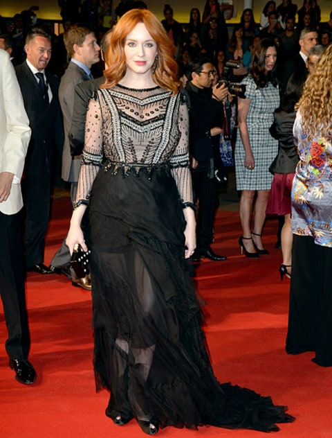 Christina Hendricks - Cannes