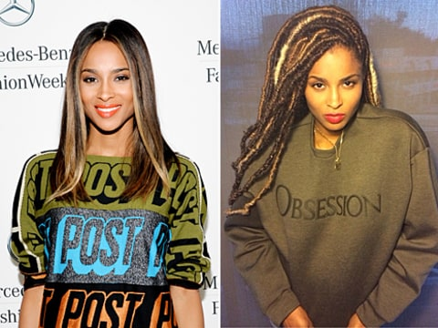 ciara hair before and after