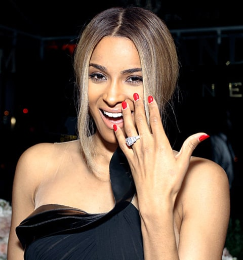 Ciara engagement ring