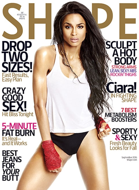 Ciara - Shape magazine cover