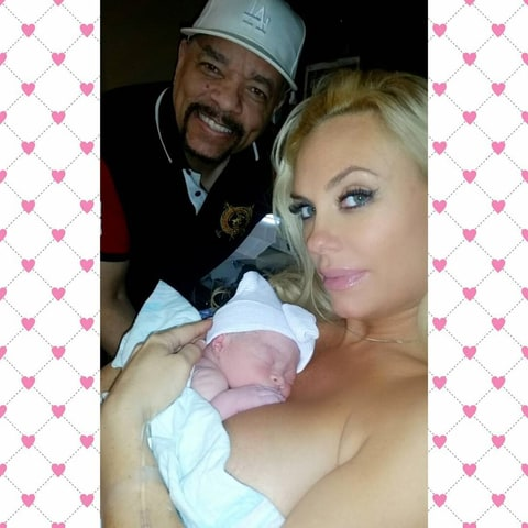Ice T, Coco Austin and Chanel