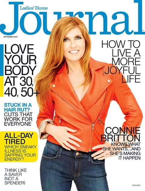 connie britton ladies home journal cover