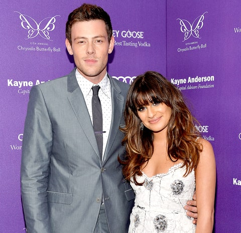 Lea Michele Gets Tattoo In Honor Of Cory Monteith Us Weekly