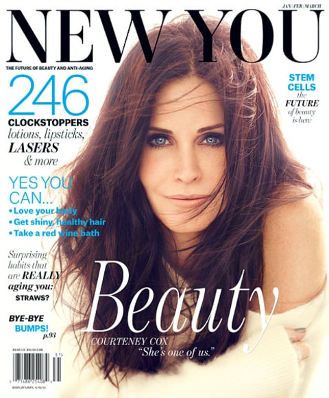 Courteney Cox New You Cover
