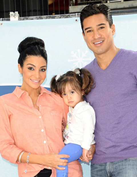 Courtney Mazza Mario Lopez Gia