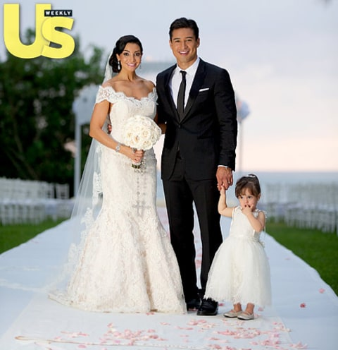 mario lopez and courtney mazza wedding