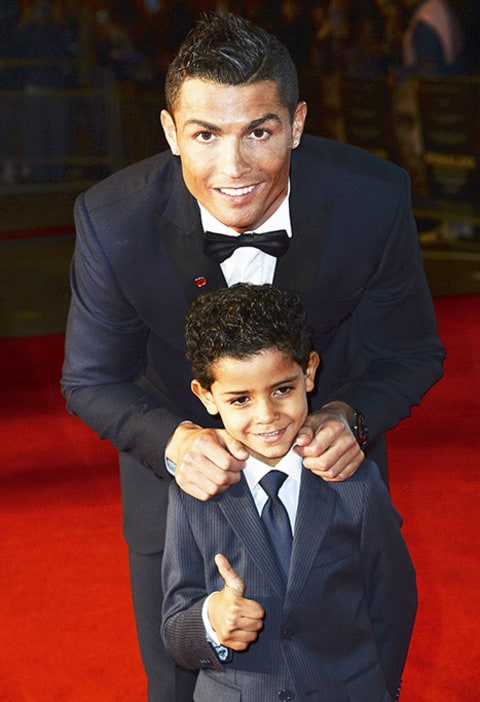 Cristiano Ronaldo and Cristiano Ronaldo Jr thumb