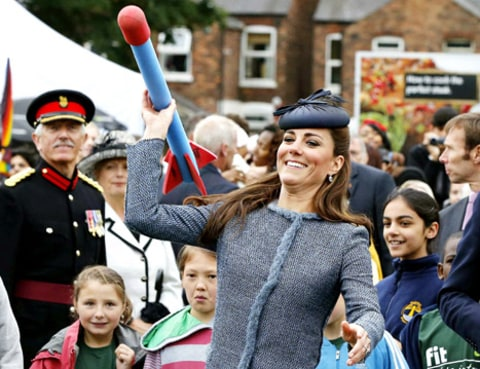 kate middleton nerf rocket