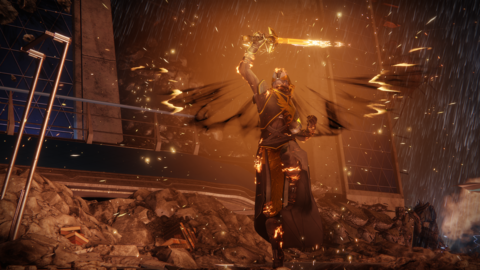 The Warlock Dawnblade subclass in 'Destiny 2'