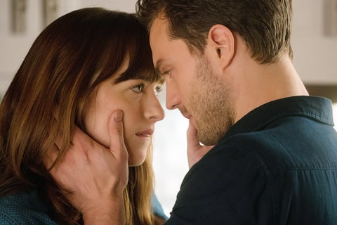 Dakota Johnson Jamie Dornan Fifty Shades Darker