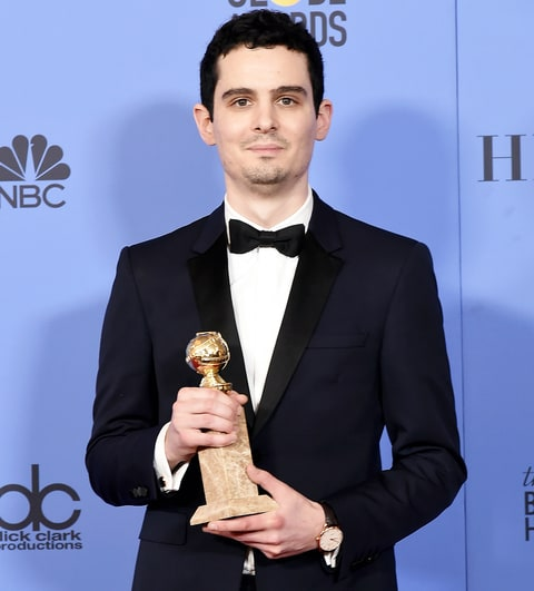 Image result for Damien Chazelle, La La Land oscar 2017