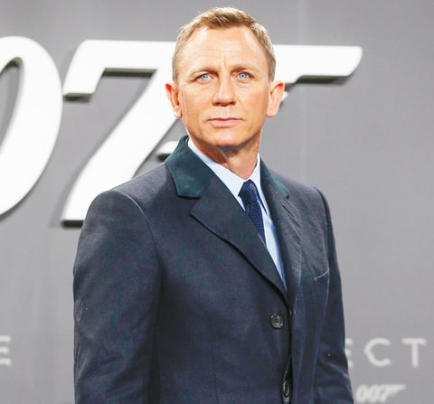 Daniel Craig attends the 'Spectre' German premiere on October 28, 201...  Daniel Craig