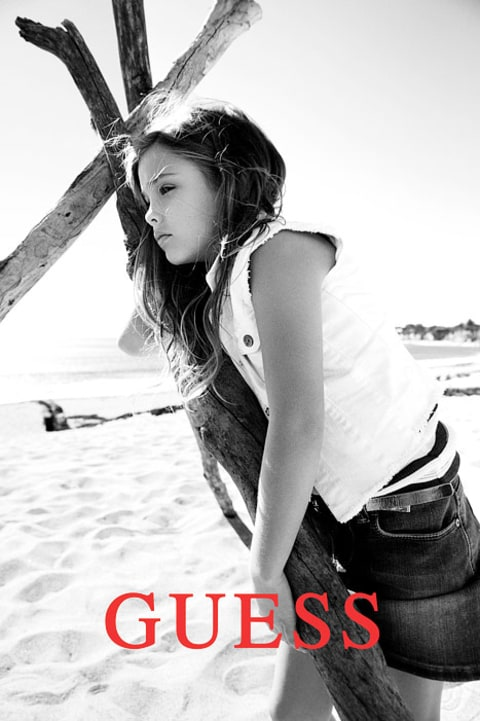 Dannielynne Birkhead for Guess
