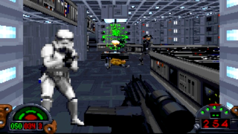 'Dark Forces' for PC was released in 1995