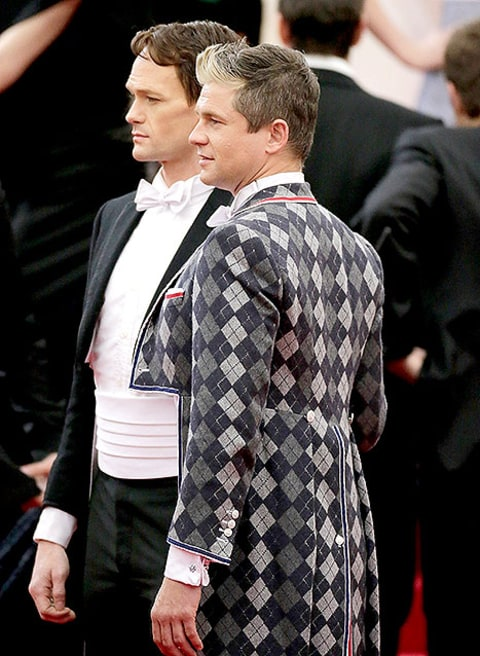 NPH and David Burtka