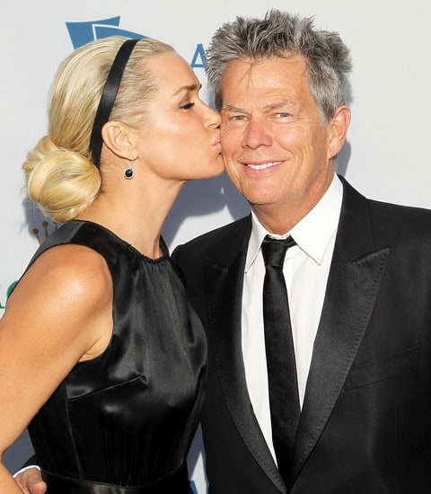 David Foster with Yolanda in 2011