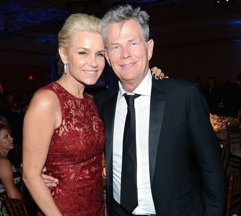 Yolanda and David Foster in 2013