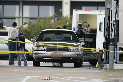 dc sniper virginia crime scene