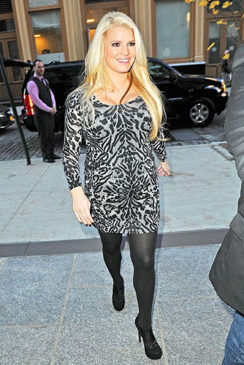 jessica simpson in leopard
