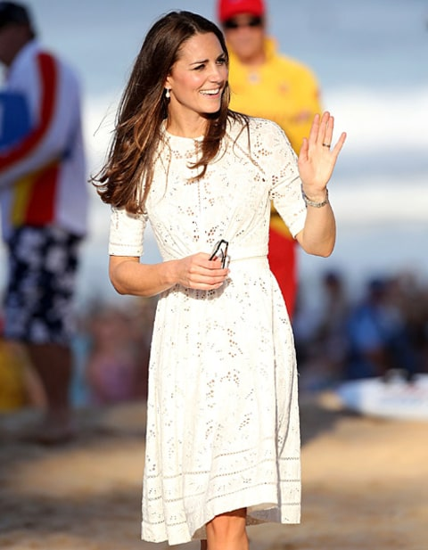 Kate Middleton beach