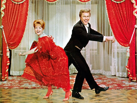 Debbie Reynolds Harve Presnell The Unsinkable Molly Brown