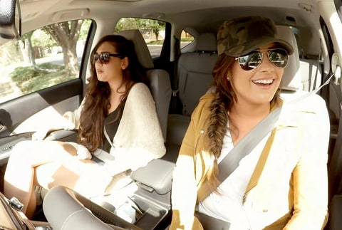 Demi Lovato goes undercover as Lyft driver in Denver