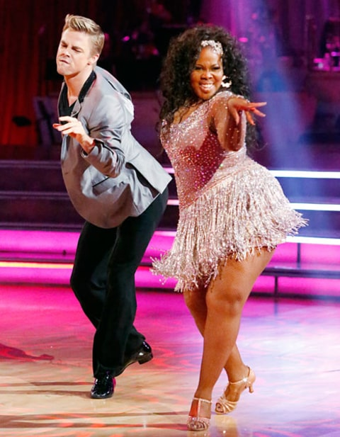 Amber Riley on DWTS