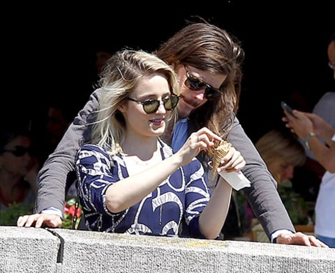 dianna agron new bf