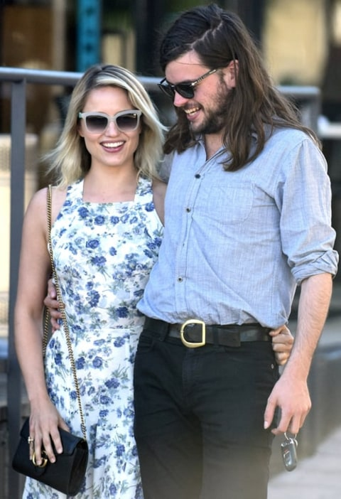 Dianna Agron Marries Mumford & Sons' Winston Marshall - Us ...