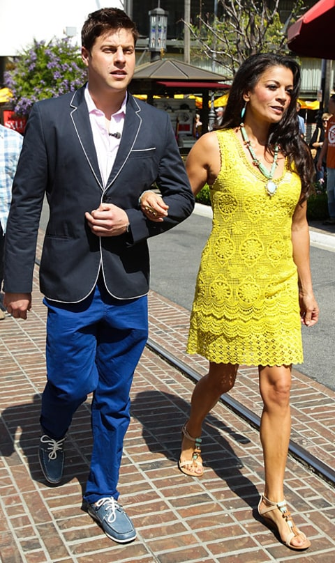Dina Eastwood and Eduard Leonard