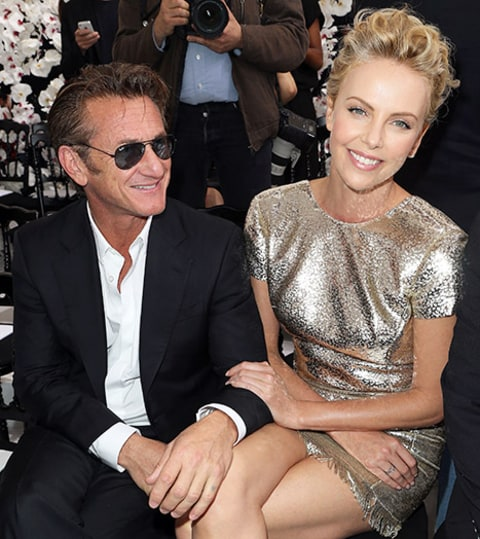 Sean Penn and Charlize Theron Dior Show
