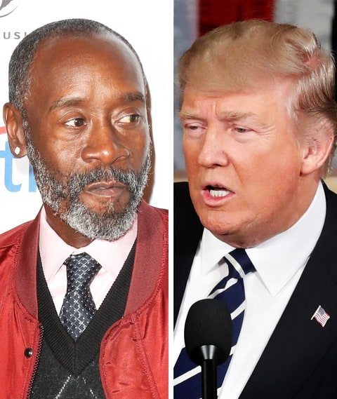 Don Cheadle shares how Trump refers to black women