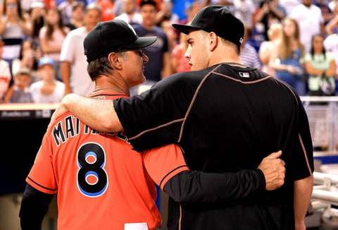 Don Mattingly and Jose Fernandez
