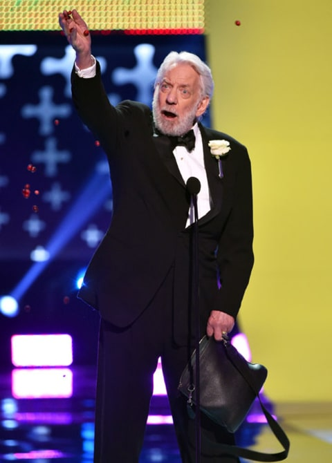 Donald Sutherland TCA speech