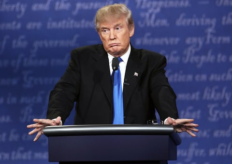 Debate Commission: There Were 'Issues' With Trump's Microphone