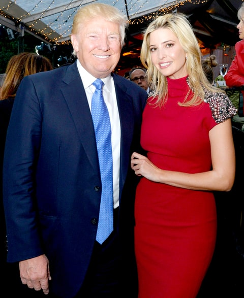 Donald Trump Suggests Appointing Ivanka Trump as First Woman to ...