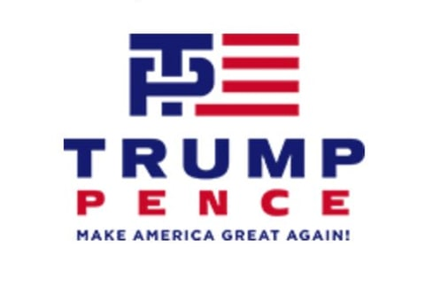 The New Trump-Pence Logo Is Less Naughty