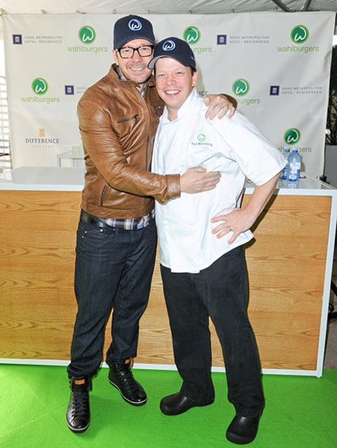 Donnie and Paul Wahlberg