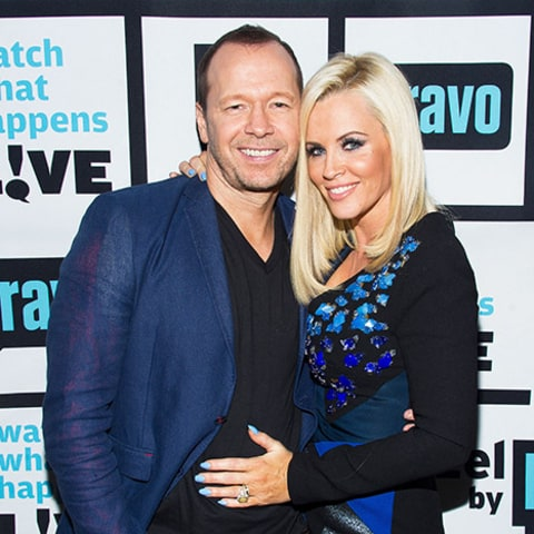 Donnie Wahlberg and Jenny McCarthy together