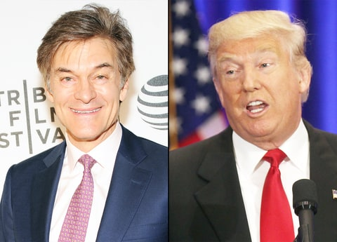 Dr. Oz and Donald Trump
