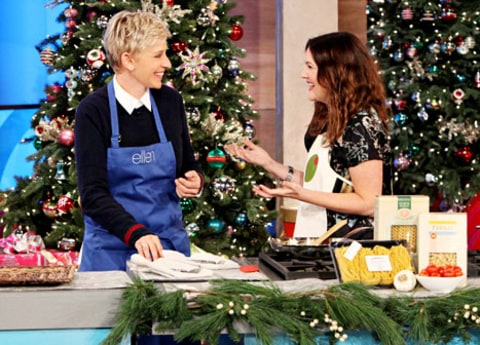 drew and ellen cooking