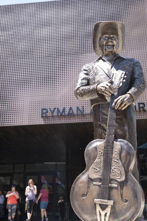 little jimmy dickens statue
