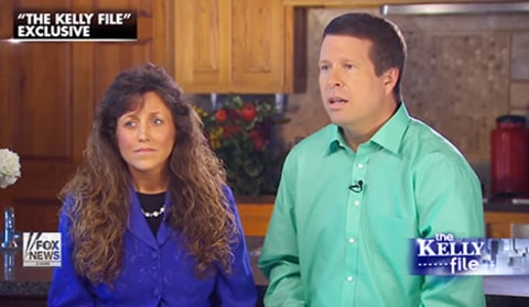 Michelle Duggar and Jim Bob interview