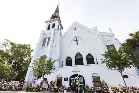 Dylann Roof church