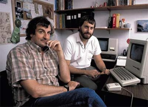 Steve Meretzky and Douglas Adams